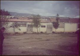 W.H.O. Trip, Ayacucho, Peru - Building with partially open roof
