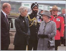 Lieutenant Governor Iona Campagnolo, Her Majesty Queen Elizabeth II and His Royal Highness Prince Philip