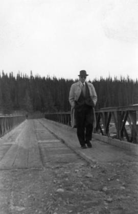 Manager's Photos - Man on Bridge