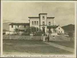 Ridley residence and mission house in Metlakatla, BC