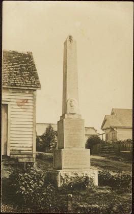 Monument at Port Simpson, BC