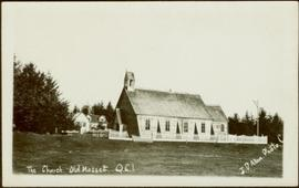 Church and mission house in Masset, Queen Charlotte Islands, BC