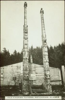 Kagaan totems at Ketchikan, Alaska