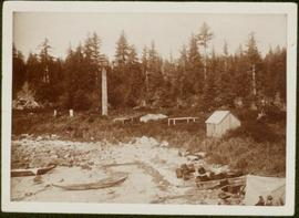 First Nations village at Haida Gwaii