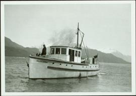 "The ""Naskeena"" in the Prince Rupert Harbour"