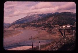 Confluence of the Thompson and Fraser rivers at Lytton, BC