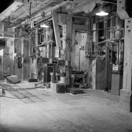 Mill work area