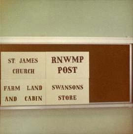 RNWMP Post sign