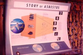 Story of asbestos display