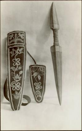 Dagger and pouch
