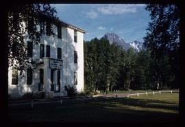Close view of Wrinch Memorial Hospital in Hazelton, BC
