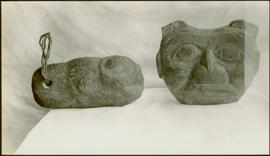 Carved stone figures