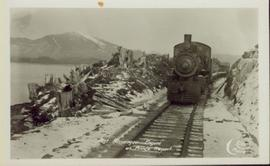 First Passenger Engine at Prince Rupert