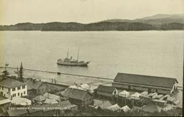 Prince Rupert wharf and waterfront