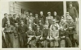 Group photo of working men in Prince Rupert BC
