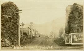 Construction of Fifth St in Prince Rupert