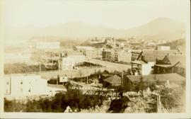General view of Prince Rupert, BC