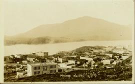 Elevated view of Prince Rupert