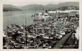 Fishing boats in Prince Rupert, BC.