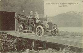First motor car in Prince Rupert, BC