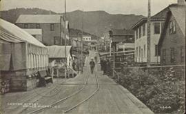 Street view of Centre Street, Prince Rupert, BC