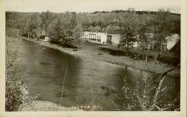 Village of Telkwa beside the Bulkley River