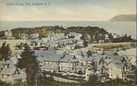Indian Village, Port Simpson, BC