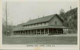 Quesnel Lake Lodge, Likely, BC