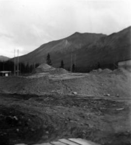 Manager's Photos - Ore Stockpile, South East View