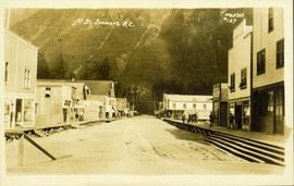 Fifth Street in Stewart, BC