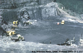 Construction of the W.A.C. Bennett Dam