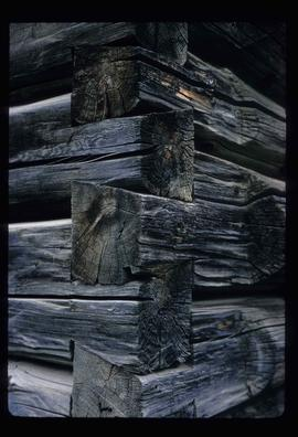 Corner of a Log House