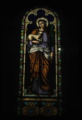 Stained Glass Window - Saint Agnes