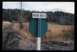 Iron Road South - Street Sign