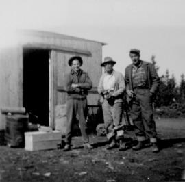 Manager's Photos - Men at Sand Flats Road Camp