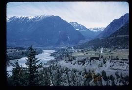 Lillooet - Mountains and the Fraser River