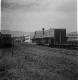 Joint CPR  and CN depot at Vernon
