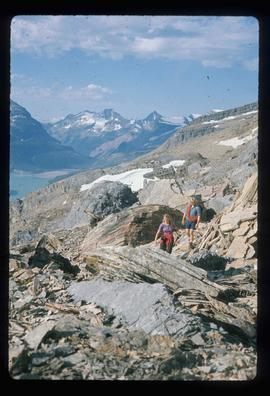Mt. Robson Provincial Park - Hikers