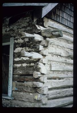 Deadman Creek - Old Log Building Corner