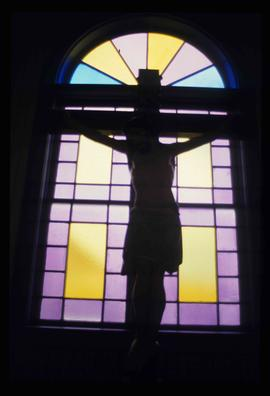 St. Joseph's Roman Catholic Church - Interior - Crucified Christ