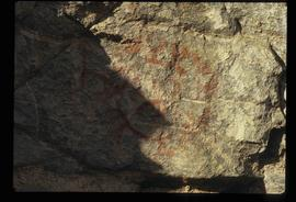 First Nations' Rock Painting