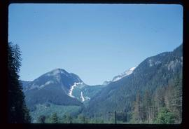 Mountains along Skeena River