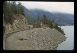 [Seton or Anderson Lake?] - Train and Tracks