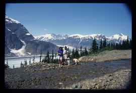 Bear Glacier - Sue and Kent Sedgwick