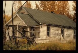 Dilapidated House in Sinclair Mills, B.C.