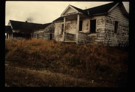 Dilapidated Houses in Sinclair Mills, B.C.