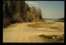 Road and Eaglet Lake