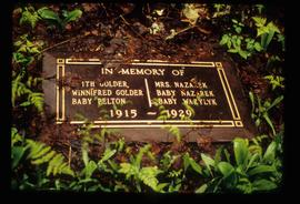 In Memory Of - Grave-Marker