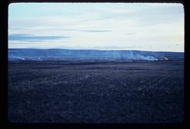 Peace River Region - Burning Grass