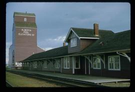 Dawson Creek - Station Museum and Alberta Pool Elevators Ltd.